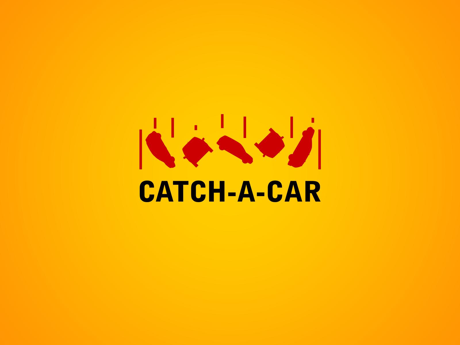 Catch-a-car Logotype / Taxi Service / concept