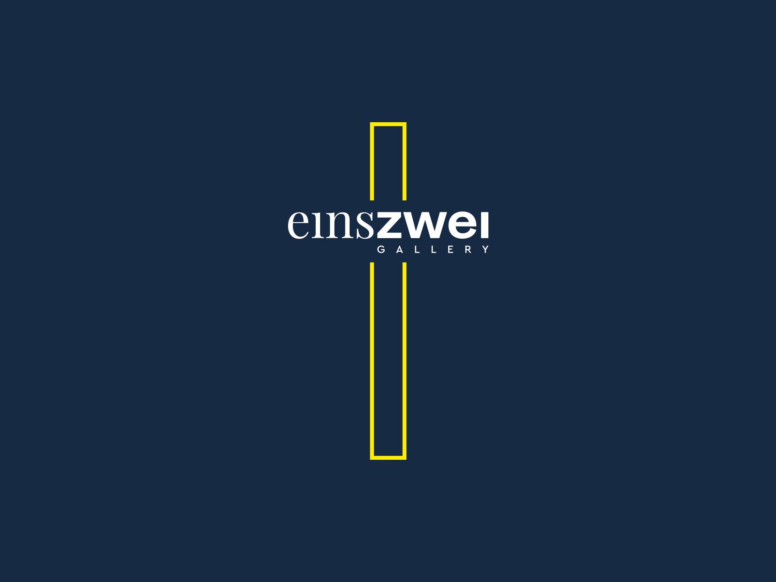 EinsZwei Gallery Logotype
