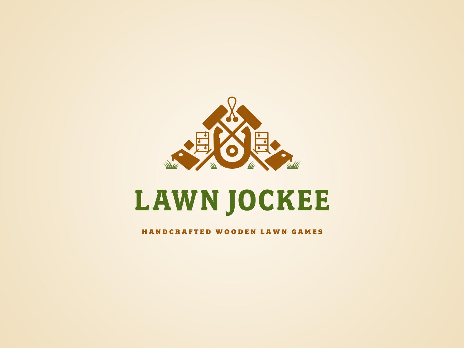 Lawn Jockee Logotype
