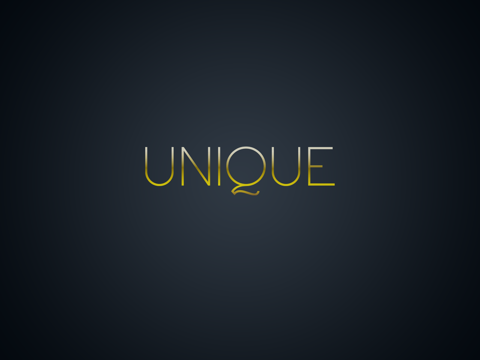 Unique Logotype / concept