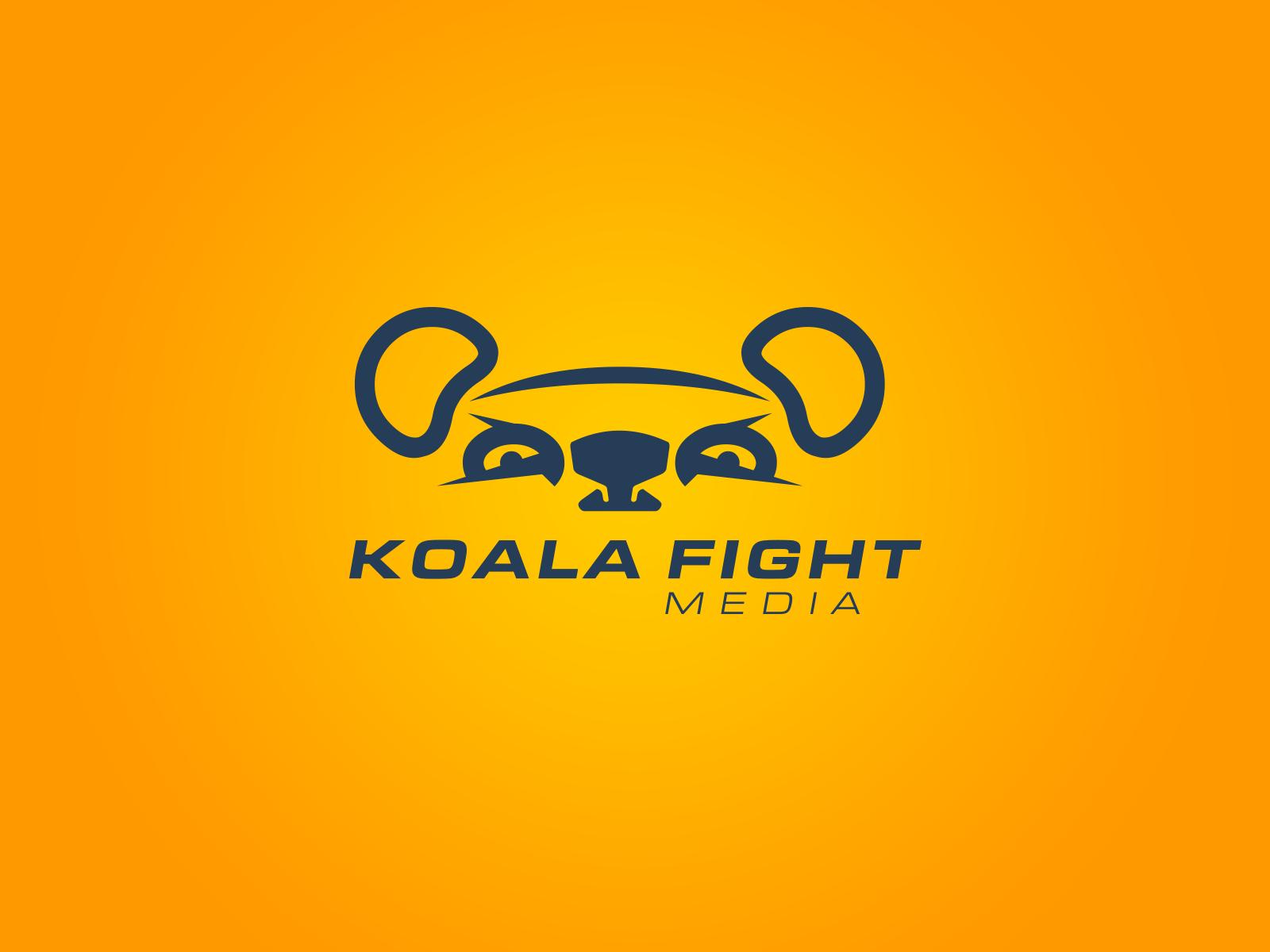 Koala Fight Media Logotype / concept