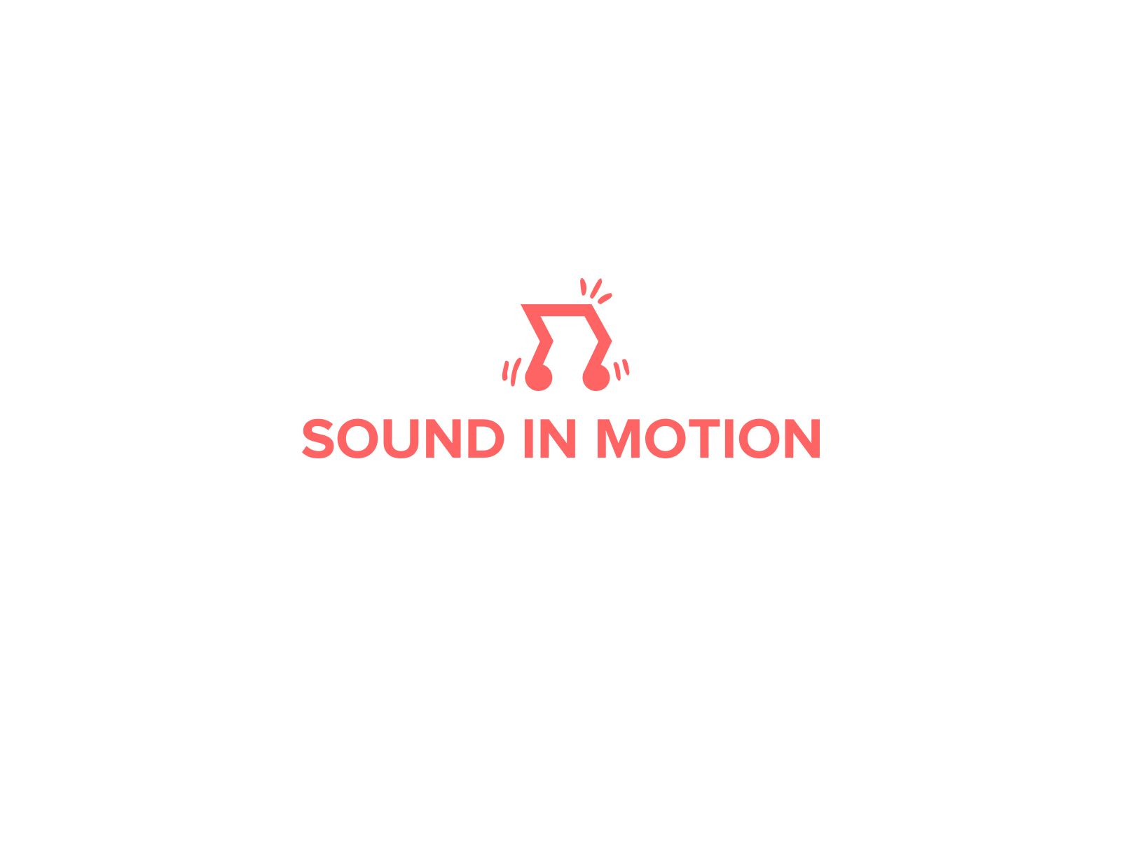 Sound in Motion Logotype / concept