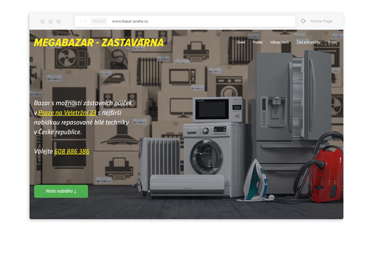 bazar praha webdesign