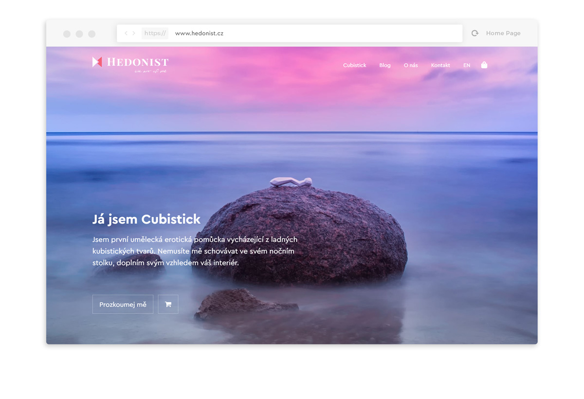 Hedonist webdesign