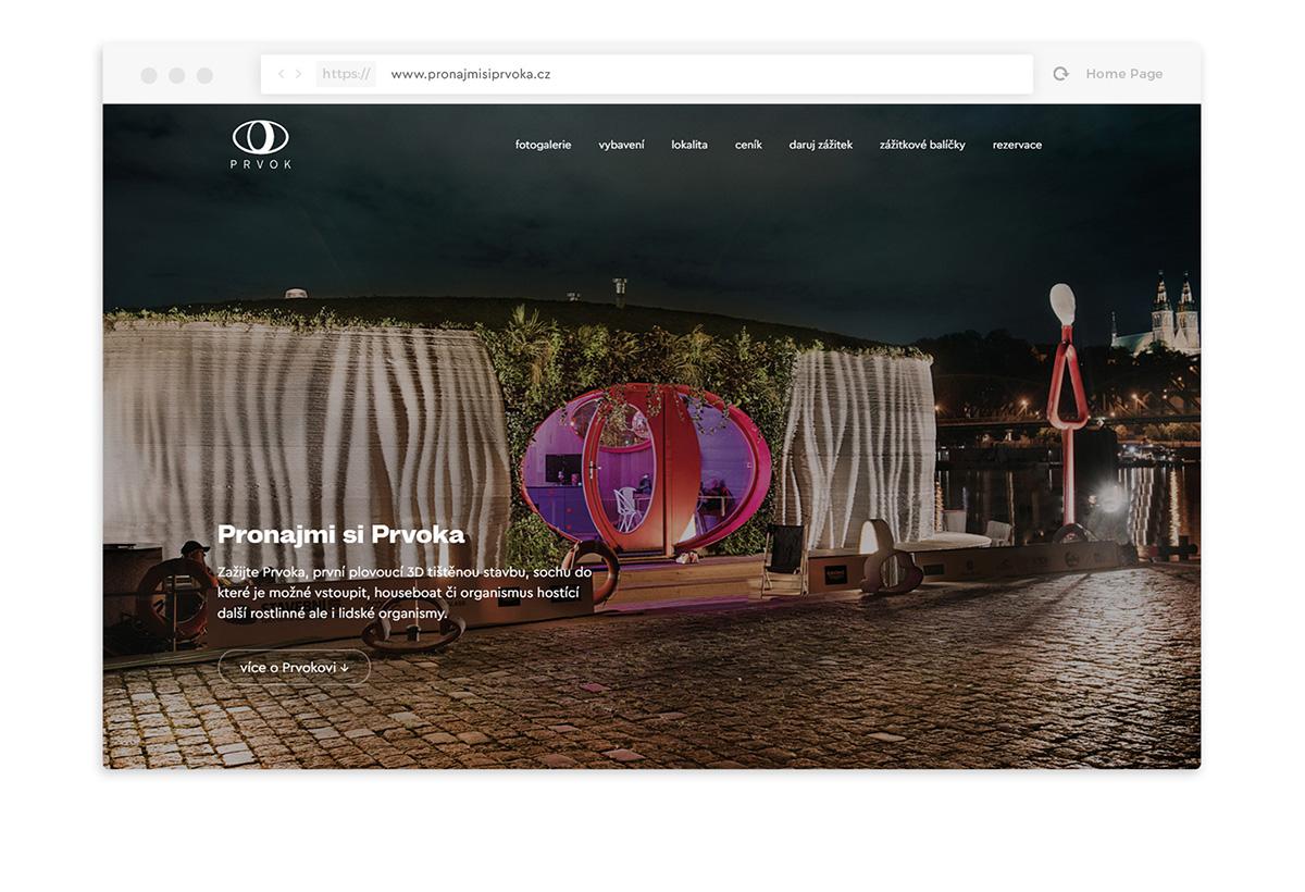 Prvok webdesign