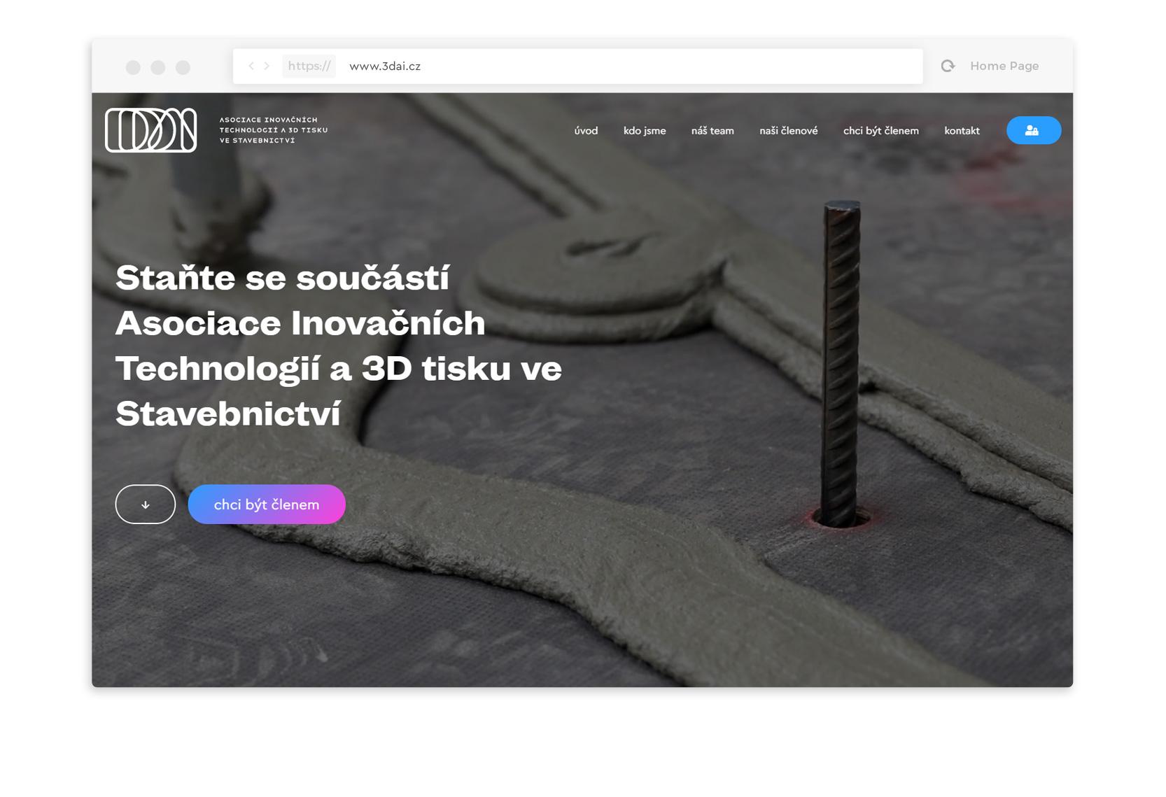3DAI webdesign